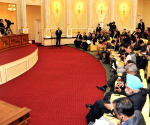Modi-Nazarbayev joint press confreness