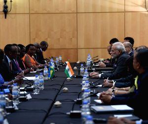 Kigali (Rwanda): PM Modi meets Rwanda President, holds delegation-level talks