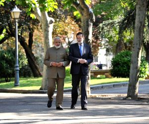 PM Modi at La Moncloa Palace