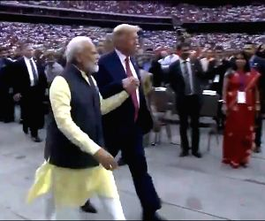 The USA loves India, Trum