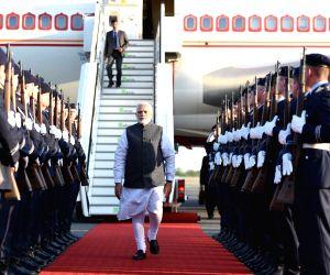 PM Modi arrives in Berlin