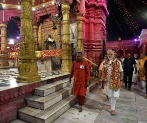 PM Modi at Durga Mata Temple