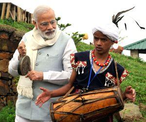 PM Modi visits Heritage Village