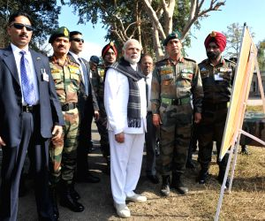 PM Modi at Pathankot Airbase