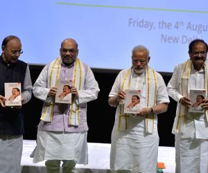 "Tireless Voice Relentless Journey"" - book release - Modi"