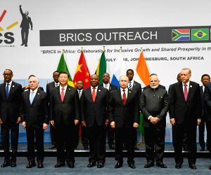 "Johannesburg (South Africa): ""BRICS Outreach Meeting"