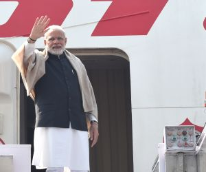 Modi departs for three-nation visit to Palestine, UAE and Oman