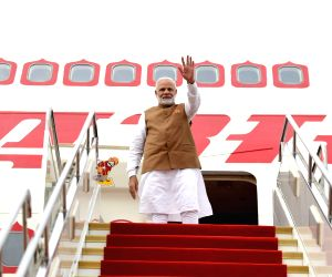 Wuhan (China): PM Modi departs for India