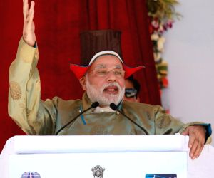 PM Modi's day-long visit to Ladakh