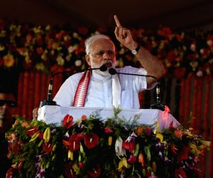 PM Modi addresses rally in Odisha