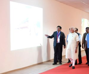 PM Modi visits Digital Art Gallery