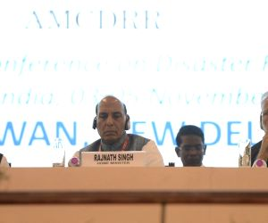 Modi, Rajnath at Asian Ministerial Conference for Disaster Risk Reduction-2016