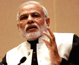 Modi urges people to follow path of peace