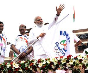 """PM Modi flags off """"Run for Rio"""""""