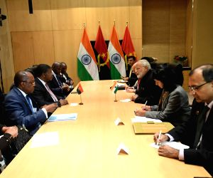 Johannesburg (South Africa): PM Modi meets Angola President