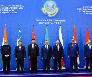 Astana (Kazakhstan): SCO Summit - Modi