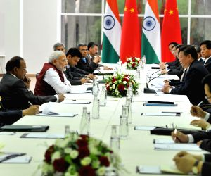 PM Modi meets China President Xi Jinping