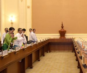 Delegation level talks - PM Modi and Aung San Suu Kyi