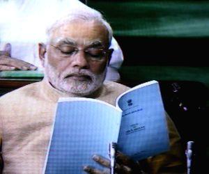 General Budget-2014-15 - Arun Jaitley & Narendra Modi