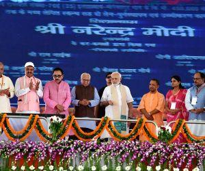Mirzapur (UP): Modi inaugurates Bansagar canal project in Mirzapur