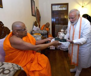 PM Modi at Sri Dalada Maligawa Temple