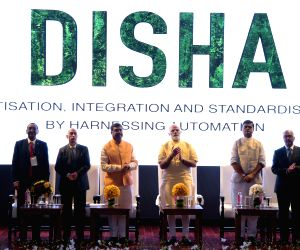 Modi launches Paperless Office Project (DISHA)