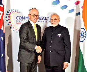 CHOGM 2018 sidelines - Modi, Malcolm Turnbull