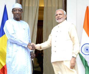 PM Modi meets Chad President