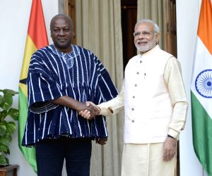 PM Modi meets Ghana President