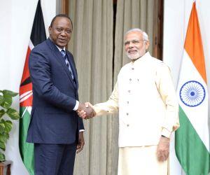 PM Modi meets Kenya President