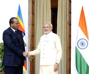 PM Modi meets King Mswati III of Swaziland