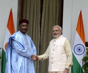 PM Modi meets Niger President