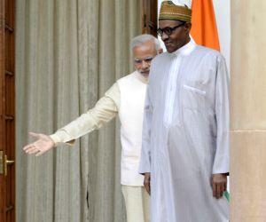PM Modi meets Nigeria President