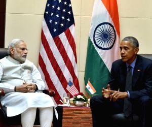 PM Modi meets USA President Barack Obama
