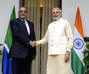 PM Modi meets South Africa President
