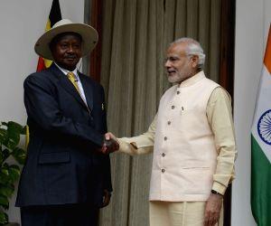 PM Modi meets Uganda President