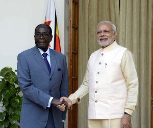 PM Modi meets Zimbabwe President