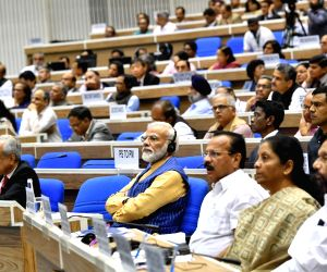 PM Modi, World Bank President at 5th edition of NITI Lecture series