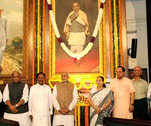 Modi pays floral tribute to Sardar Vallabhbhai Patel on his birth anniversary