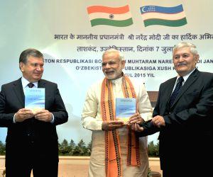 PM Modi releases first Uzbek-Hindi dictionary