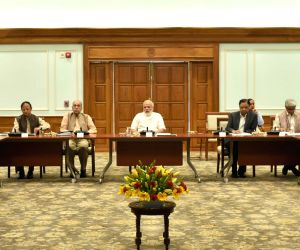 Modi reviews the performance of infrastructure sectors