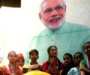 Bindeshwar Pathak celebrates PM Modi's birth day