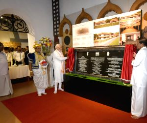PM Modi unveils Faculty of Kandyan Dancing
