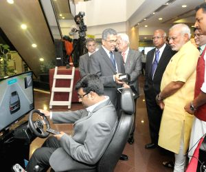 PM Modi at National Skill Development Mission exhibition