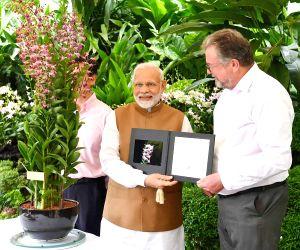Modi visits National Orchid Garden