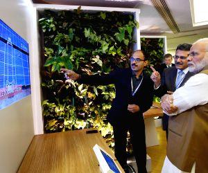 Modi visits the 'Virtual Digital Exhibition