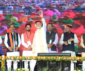 Modi at BJP rally