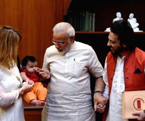 Modi welcomes Adnan Sami's daughter Medina