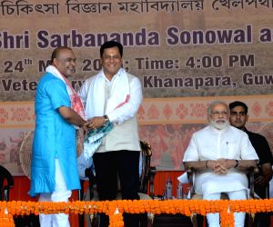 Sonowal's swearing-in ceremony - Modi