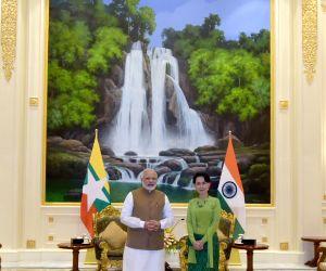 PM Modi meets Aung San Suu Kyi